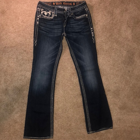 Rock Revival Denim - Rock Revival - Jenna Bootcut Jeans Size 27